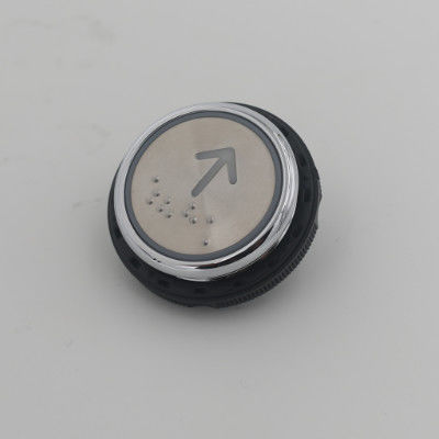 Stainless Steel Replacement Elevator Buttons KA313 Model With Braille