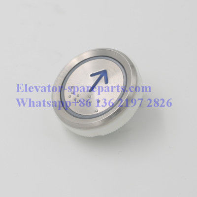 44mm*20mm Lift Push Buttons AN122 With Braille Stainless Steel Made